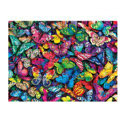 Colorful Butterfly Jigsaw Puzzle -