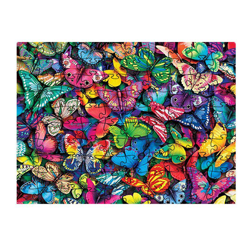 Hot Colorful Butterfly Jigsaw Puzzle