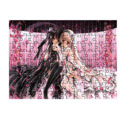 Flowers and Beautiful Princess Jigsaw Puzzles -