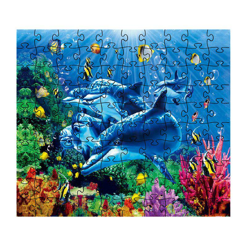 Affordable Beautiful Dolphin Jigsaw Puzzle
