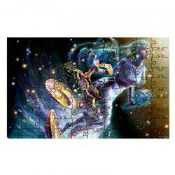 Fairies Come Down To Earth and Do Jigsaw Puzzles -