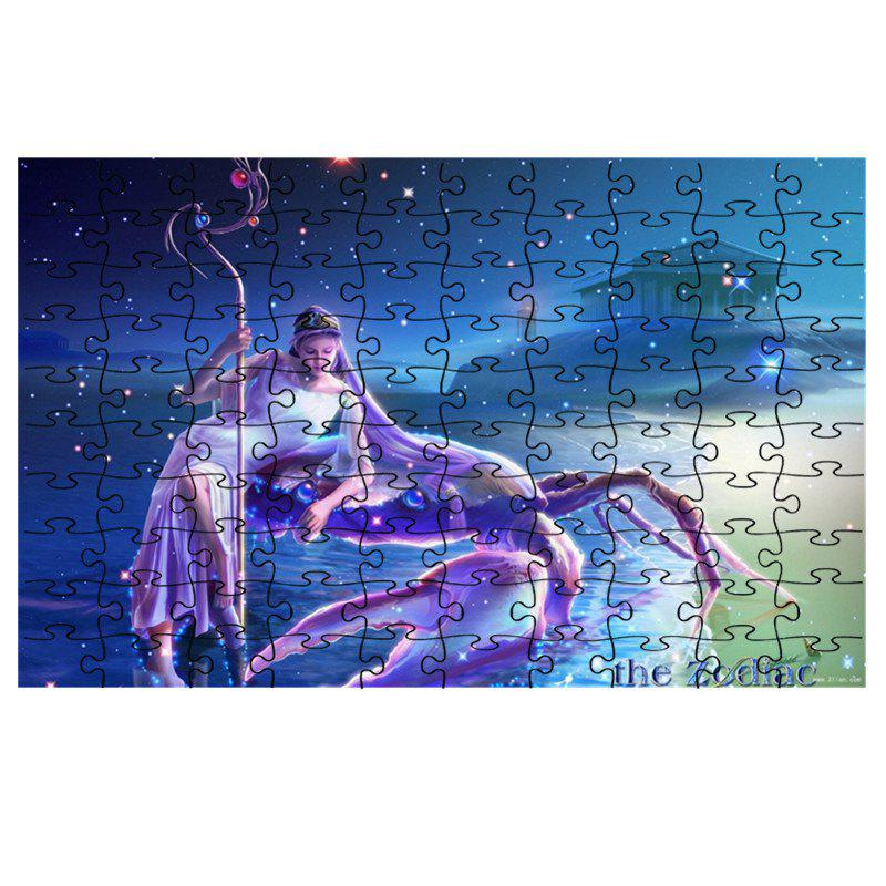 Fashion Crab and Beauty Jigsaw Puzzle