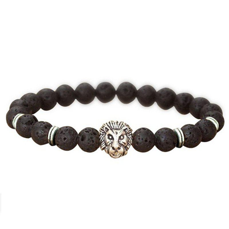 Online Fashionable Lion Head Bracelet for Men's
