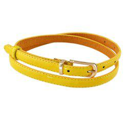 Pu Leather Adjustable Belts -
