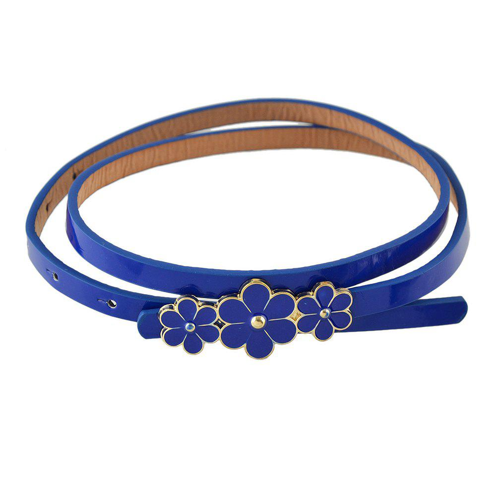 Unique Enamel Flower Decoration Adjustable Belts