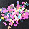 Jewelry 12 Color Shell Paper Colorful Shell Powder Irregular Set -