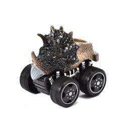 1PCS Dinosaur Inertia Toy Car Boxed Dinosaur Chariot -