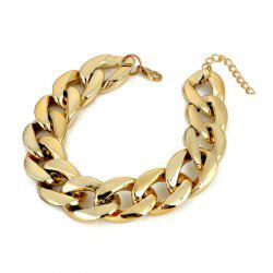 Simple Temperament Women's Thick Chain Footchain -