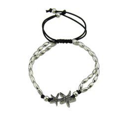 Bohemia Vintage Starfish Pattern Adjustable Anklets -