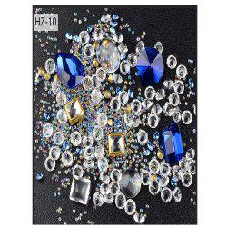 New Nail Jewelry Glass Drill Magnifier Mixed -