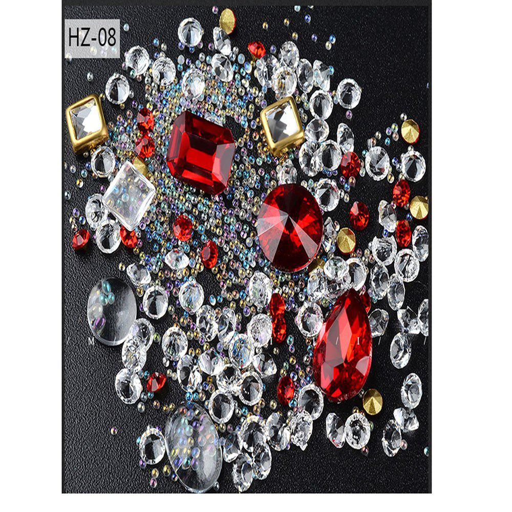 New New Nail Jewelry Glass Drill Magnifier Mixed