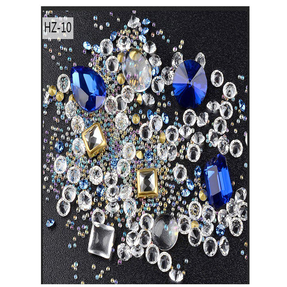 Shops New Nail Jewelry Glass Drill Magnifier Mixed