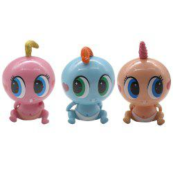 3pc Robot Doll Toys With Music -