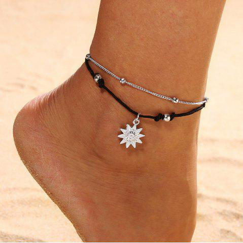 Jewelry & Watches Silver Or Gold Crystal Rhinestone Stretch Anklet Ankle Bracelet Wedding 35-2