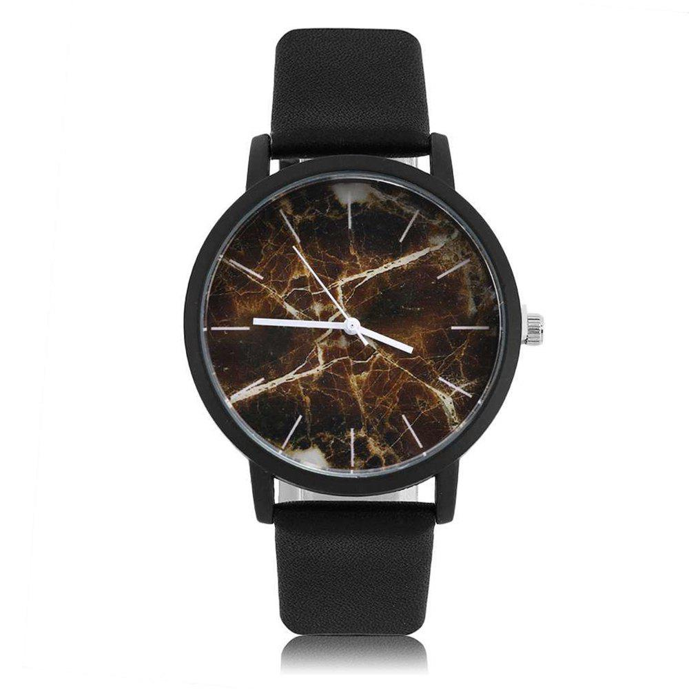 Outfit Leisure Fashion Marble Belt Quartz Watch
