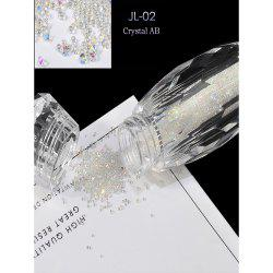 Elf Bead Nail Rhinestone Transparent Beads Micro Drill Bottle -