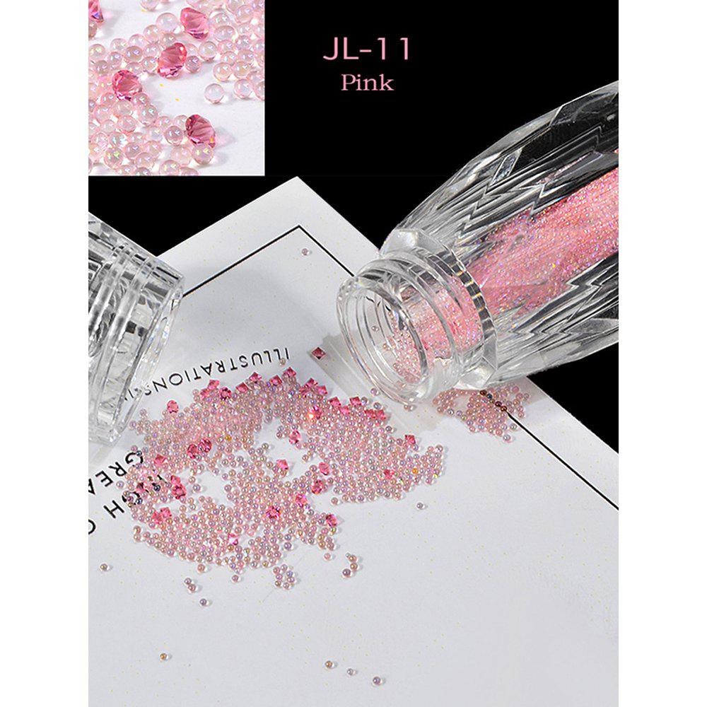 Latest Elf Bead Nail Rhinestone Transparent Beads Micro Drill Bottle
