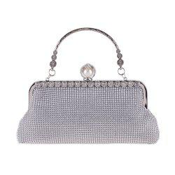 Diamond Evening Bag Metal Bag Hand Bag Dress Bag Handbag Fashion Party -