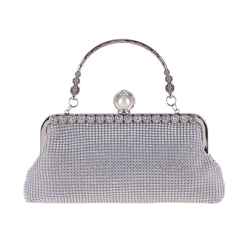Buy Diamond Evening Bag Metal Bag Hand Bag Dress Bag Handbag Fashion Party