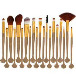 20 shell makeup brush set makeup tools -