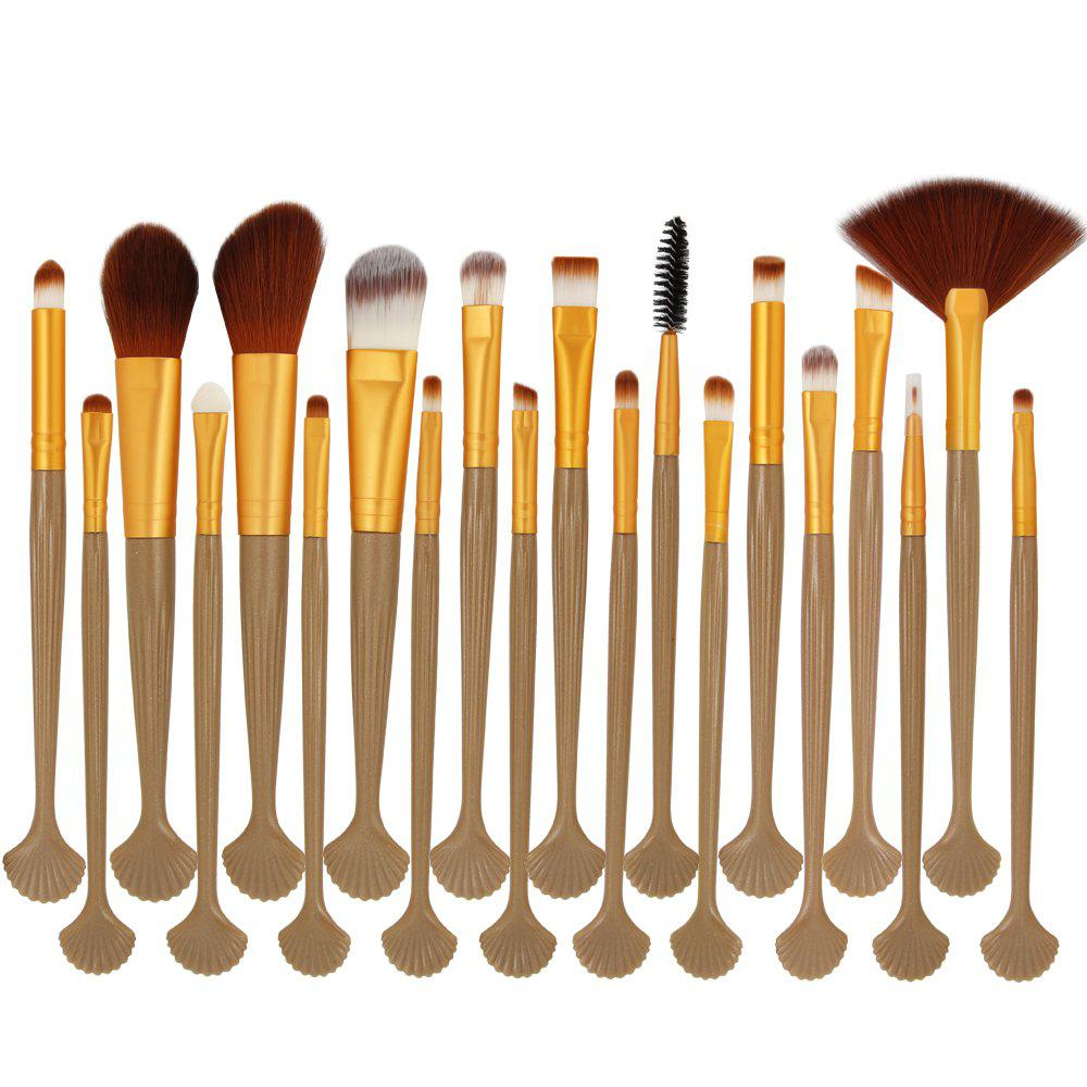 Shop 20 shell makeup brush set makeup tools
