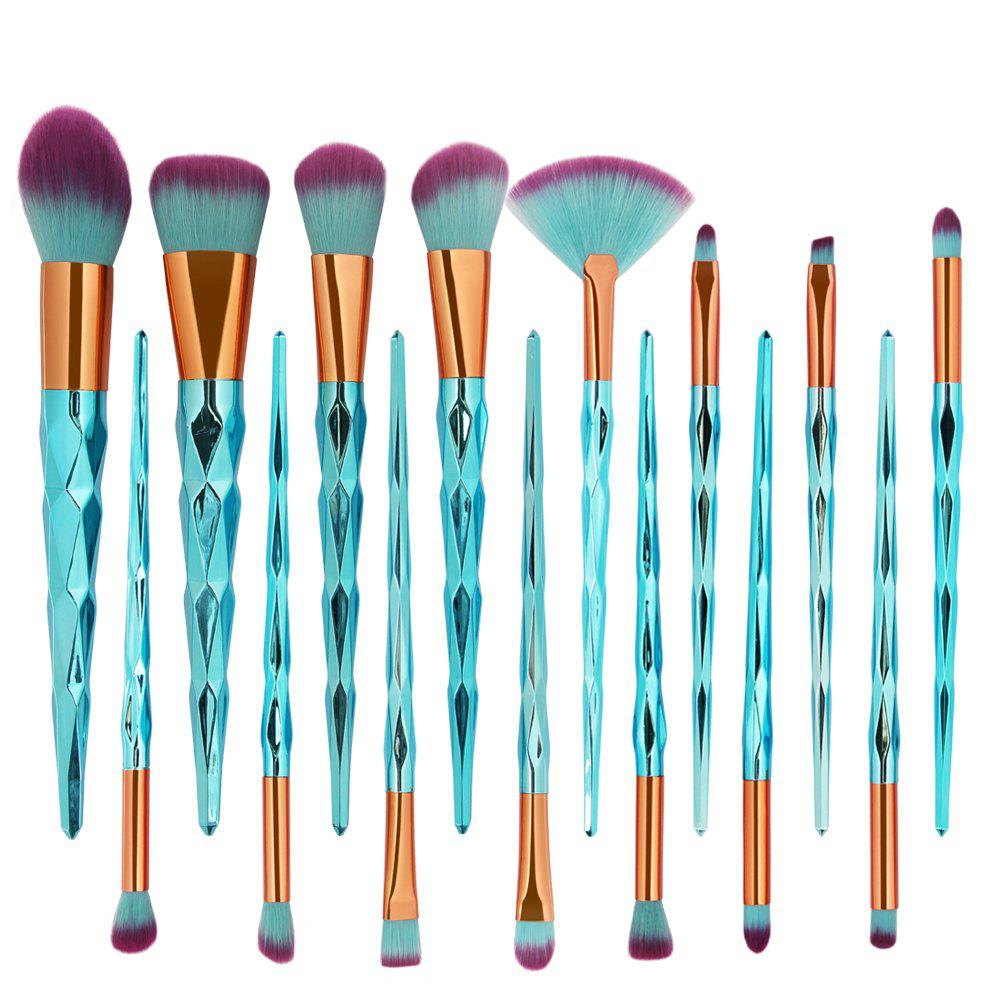 Store 15 Diamond Makeup Brushes Set Makeup Tools