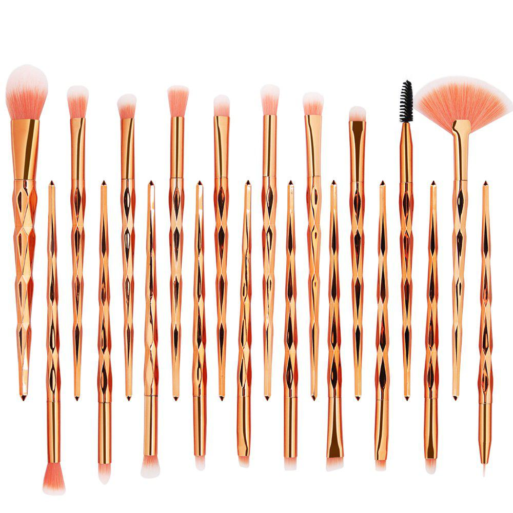 Latest 20 Diamond Makeup Brushes Set Makeup Tools