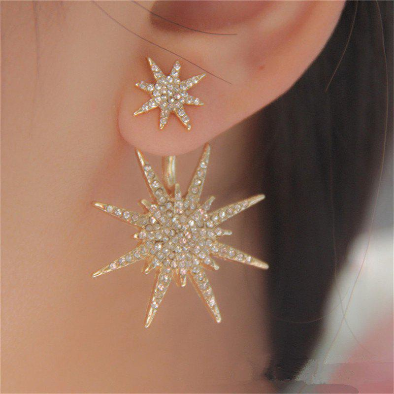 Discount Delicate Fashion Women's Alloy Six Mang Star Ear Nails
