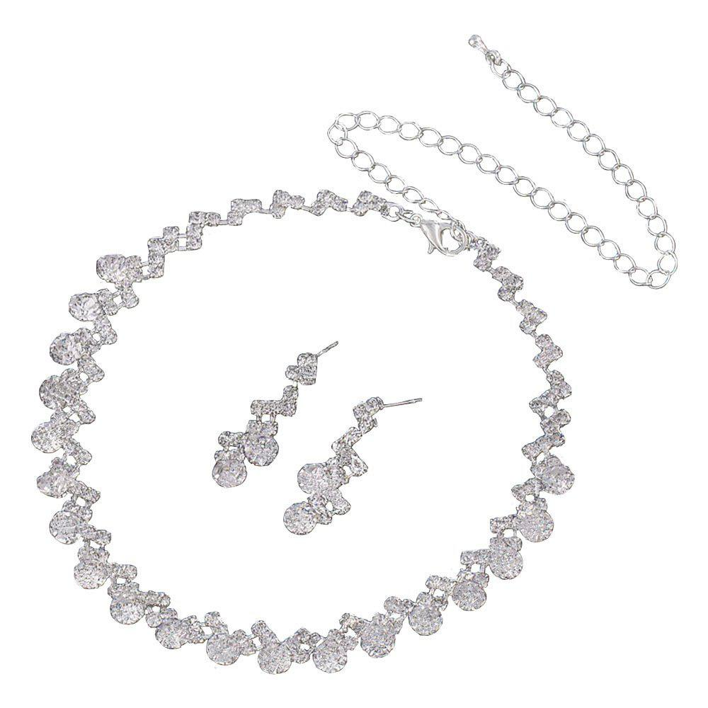 Online New Simple and Easy Personality Necklace Set