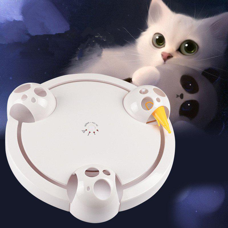 Chic Funny Cat Toy Electric Cat Catching Mouse Tray
