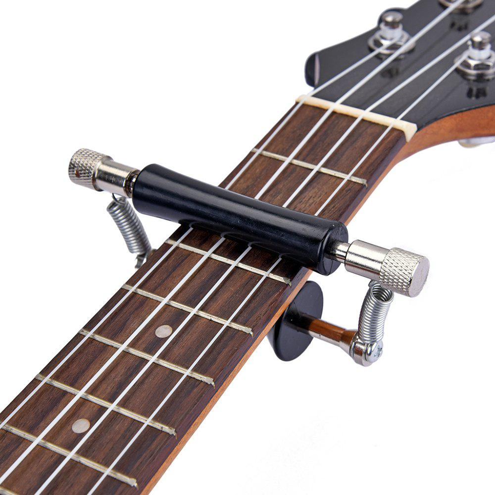 Store Rolling Guitar Capo Glider Easy Sliding Up Down for Classic Guitars