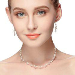 New Fashion Simple Pearl Necklace Set -