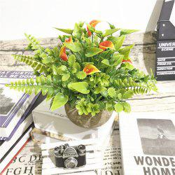 Creative Plastic Simulation Potted Household Decoration Flower Decoration -
