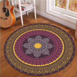 Crystal SuperSoft Living Room Tapis circulaire Couverture d'ordinateur Spread Roo -