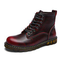Men'S Fashionable and Comfortable Cowhide Boots -