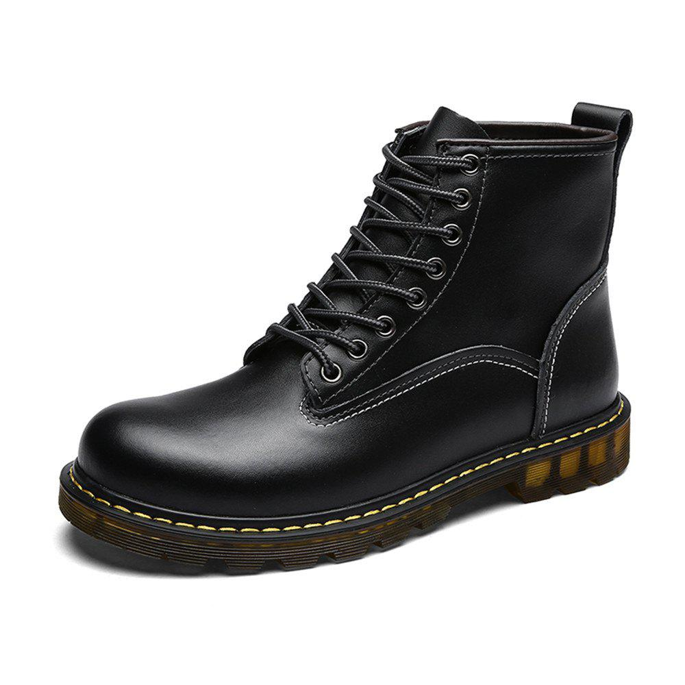Shops Men'S Fashionable and Comfortable Cowhide Boots