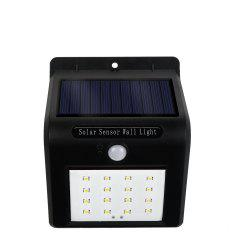 Wireless Waterproof 16 LED Security Motion Activated Sensor Solar Power Lights -