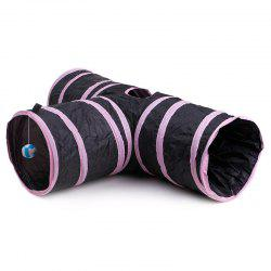 Pets Articles Ring Paper Tee Tunnel Cat Toy Foldable Channels -