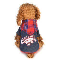 Fashion Cowboy Dog Clothes -