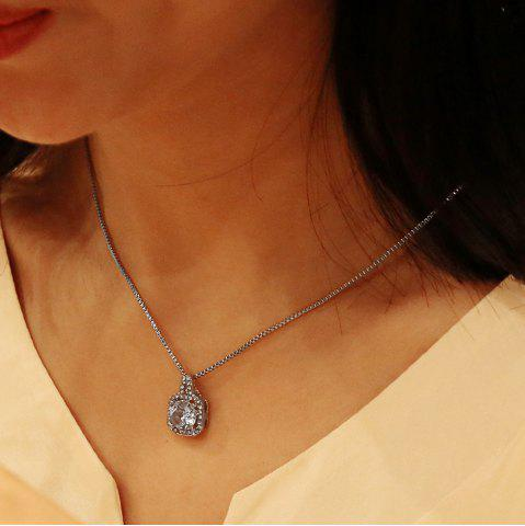 Harajuku Classic Simple Short Crystal Zircon Clavicle Chain Necklace
