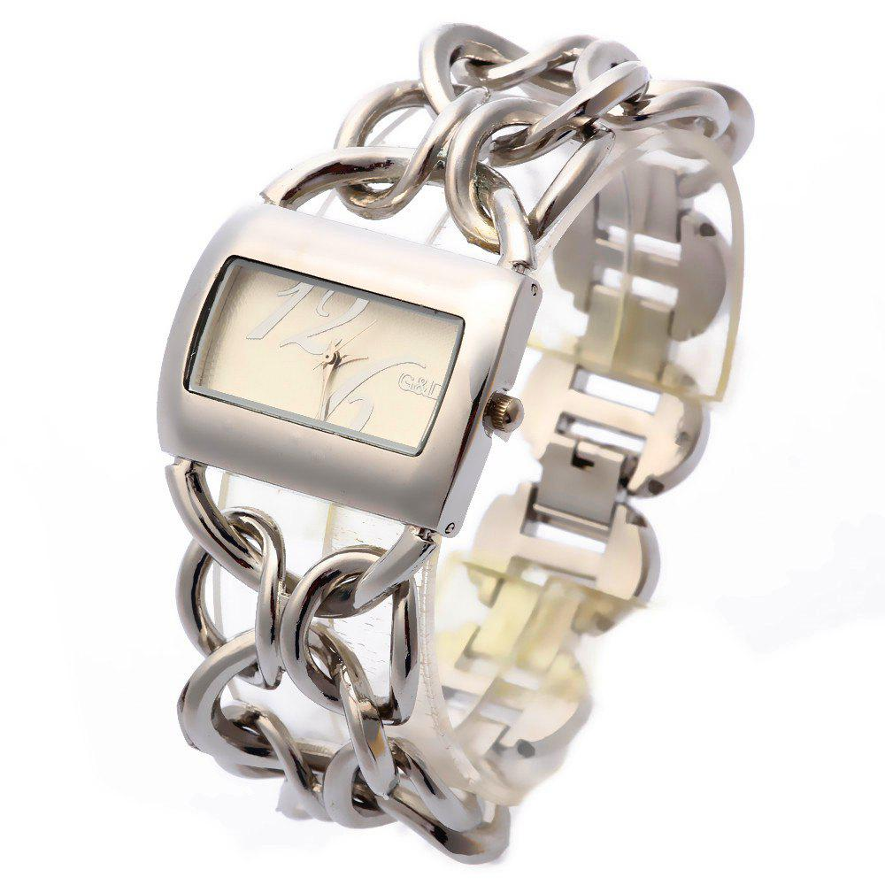 Affordable Ladies'Top Brand Stainless Steel Luxury Quartz Watch