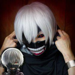 Silver White Short Hair Cosplay Wig -