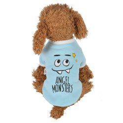 Funny Smiley Face Pet Dog Clothes -