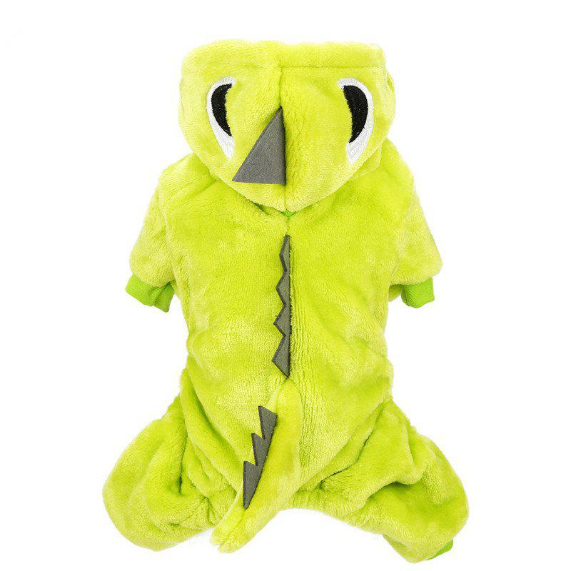 Unique Pet fall and winter Tyrannosaurus reincarnation Teddy dog clothes