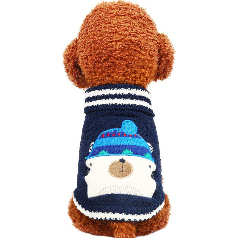 Outfits Pet Fall Winter Chenille Sweater Teddy Dog Clothes