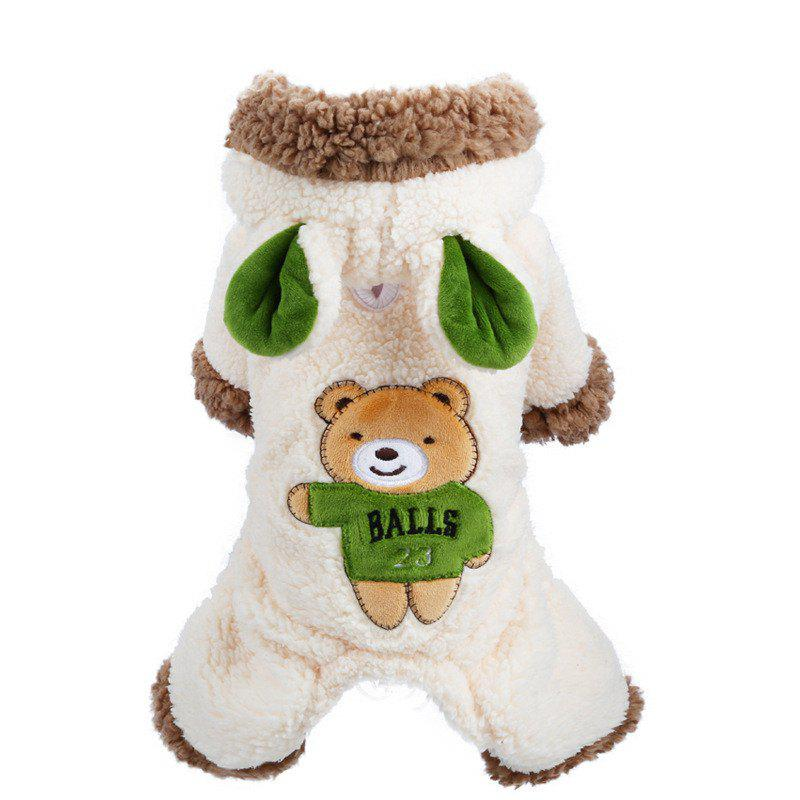 Buy Pets Fall and Winter Bears Are Greatly Transformed Into Teddy Dog Clothes