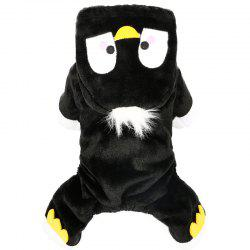 Pet Fall and Winter Penguin Teddy Dog Clothes -