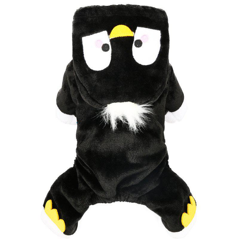 Trendy Pet Fall and Winter Penguin Teddy Dog Clothes