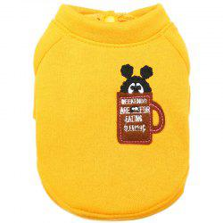 Round Neck Shirt Pet Clothes -