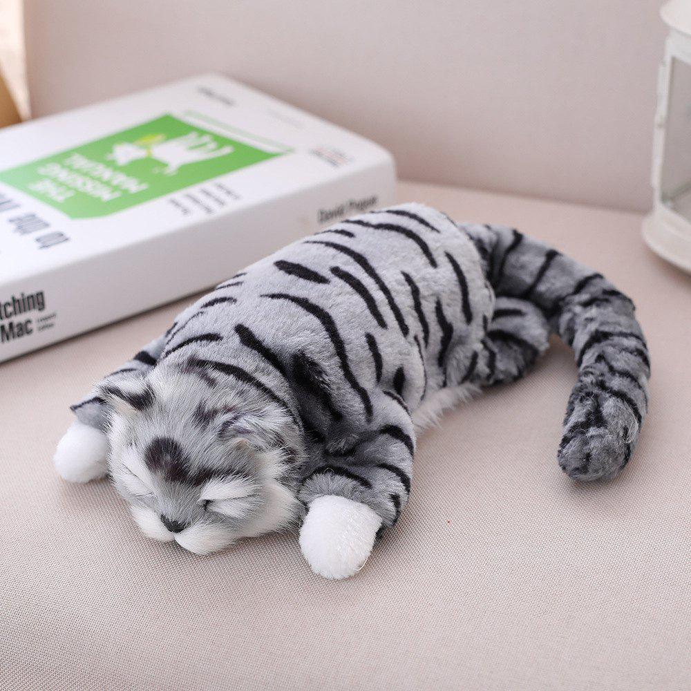 Fancy Simulation Laugh Cat Funny Grab Machine Electric Plush Doll